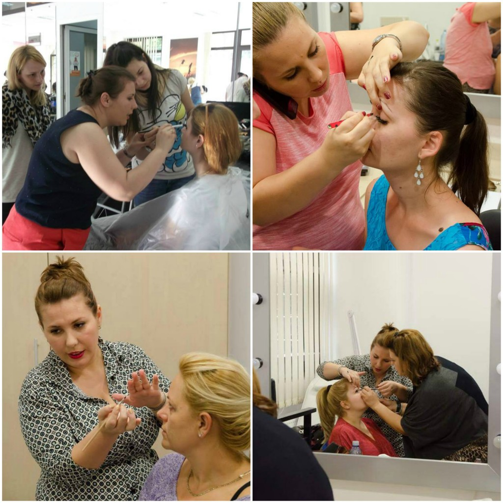 Dana Stancu makeup artist