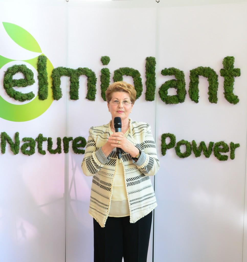 Elena Cremenescu, fondator elmiplant