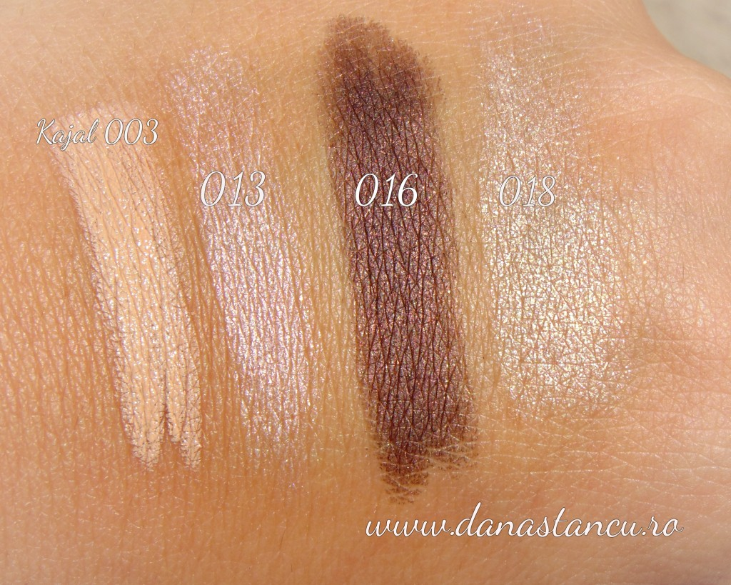 swatch pupa waterproof eyeshadow