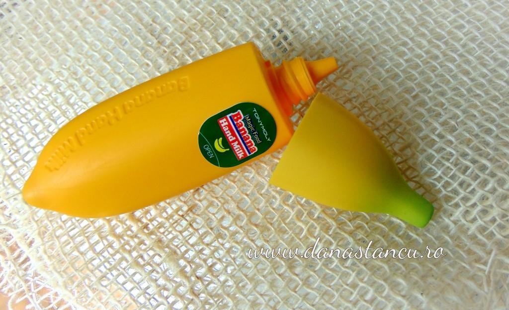tony moly banana hand milk