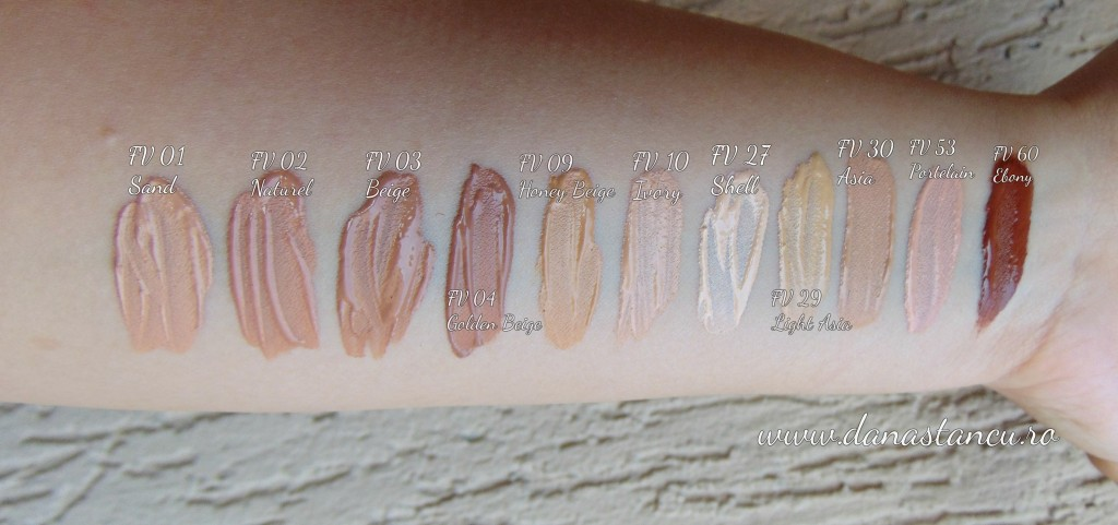 numeric proof smart skin shades swatches