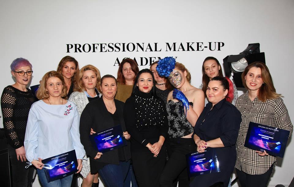 seminar glam makeup