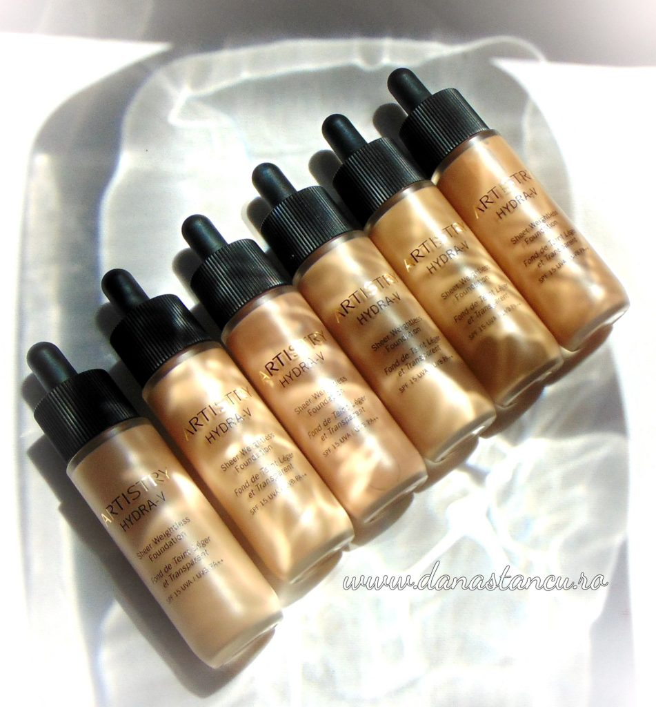 Hydra-V Sheer Weightless Foundation