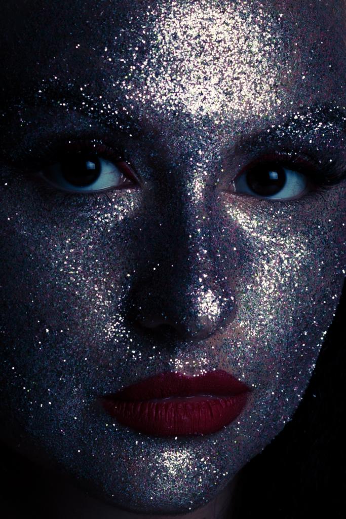 glitter face dana stancu