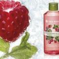 Gel de dus nectar Zmeura & Menta 200 ml + extract vegetal